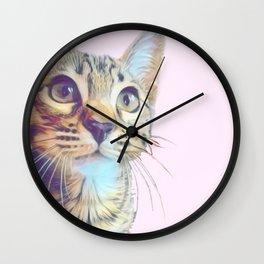 Gouda Pink Wall Clock