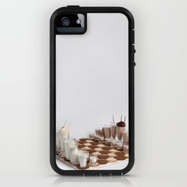 Cookies and Milk Chess Set iPhone Case