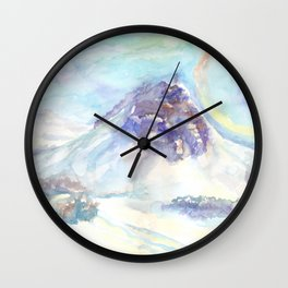 Optical phenomenon - halo Wall Clock