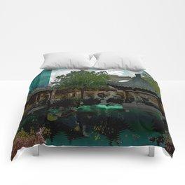Portland Chinese Garden Comforters