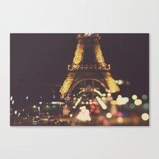 La Ville-Lumière Canvas Print