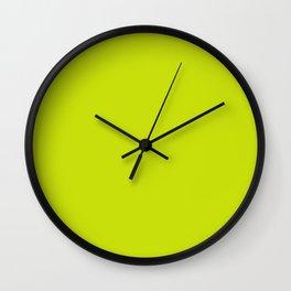Bitter Lemon Wall Clock