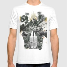The end is death Mens Fitted Tee White MEDIUM