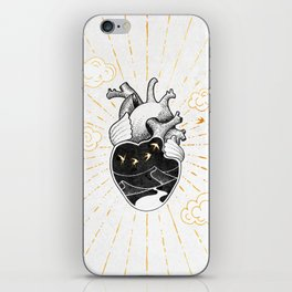 Desert Heart Inktober :: More Magick iPhone Skin