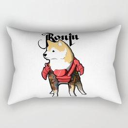 Ronin Dog Rectangular Pillow
