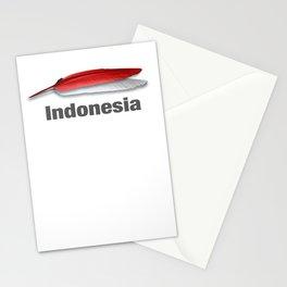Merah putih Stationery Cards
