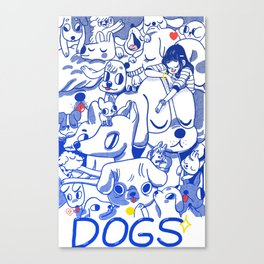 Dogs✧ Canvas Print