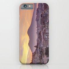 Napoli, landscape with volcano Vesuvio and sea Slim Case iPhone 6s