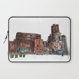 Canadian Malting Factory Laptop Sleeve