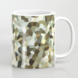 Yellow Mosaic Pattern Coffee Mug