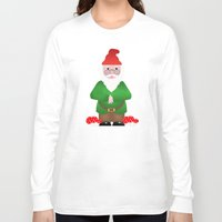 gnome Long Sleeve T-shirts featuring Gnome by lescapricesdefilles