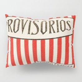 Provisorios - Vintage Cigarette Pillow Sham