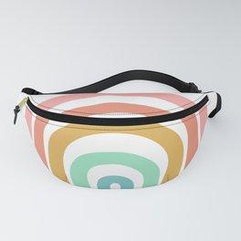 Rainbow Paint Fanny Pack
