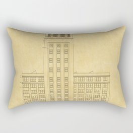 Sears Merchandise Tower Rectangular Pillow
