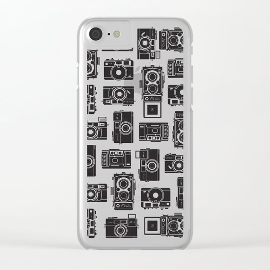 Yashica bundle Camera Clear iPhone Case