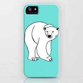 The Breathtaking Polar Bear iPhone Case