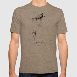 The easier it comes together, the easier it falls apart. T-shirt