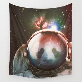 The Vulnerable Explorer Wall Tapestry
