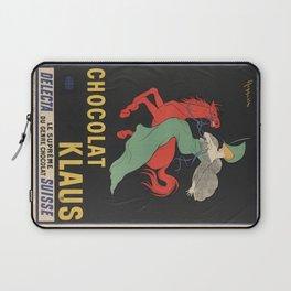 CHOCOLAT KLAUS FRENCH VINTAGE POSTER Laptop Sleeve