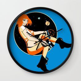 The Stars Wall Clock