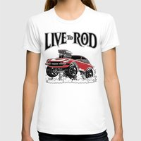 1975 T-shirts featuring 280z GASSER by SCREAMNJIMMY