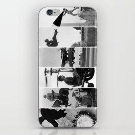 photo montage dans les airs iPhone Skin