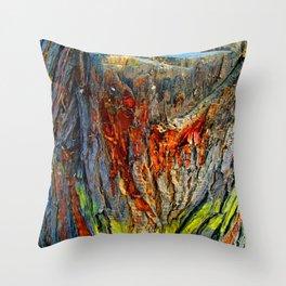 Bark Texture 70 Throw Pillow