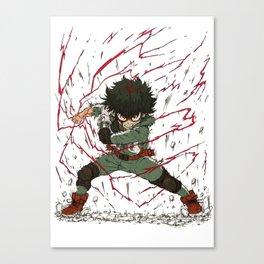 Midoriya Canvas Print