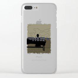 HIRAETH Clear iPhone Case