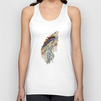 nudes Tank Tops featuring Two Nudes by Dawson Illustrations