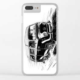 at full speed Clear iPhone Case