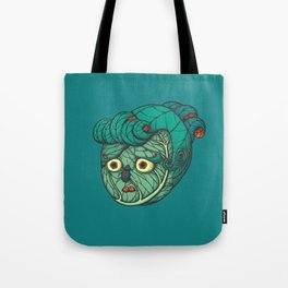 Cabbage lady Tote Bag