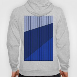 Blue Line Pattern 3 Colors Hoody