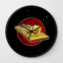 It's A Trap! Wall Clock