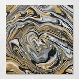 Melting Metals Canvas Print