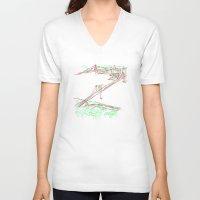 brooklyn V-neck T-shirts featuring brooklyn by barmalisiRTB