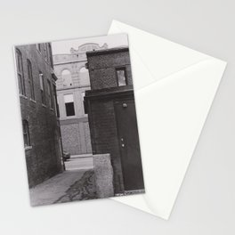 Alley on South Main Street Stationery Cards