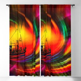Time- Tunel100 Blackout Curtain