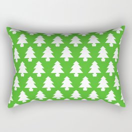Trees of Green Rectangular Pillow