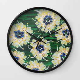 Aspen Rose Wall Clock