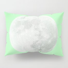 WHITE MOON + LIME SKY Pillow Sham