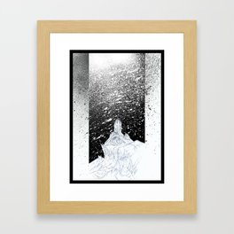 Frost Giant Framed Art Print