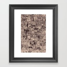 Prague II Framed Art Print