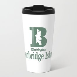 Bainbridge Island - Washington Sate. Travel Mug