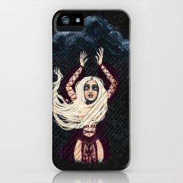 Sagittarius Witch iPhone Case