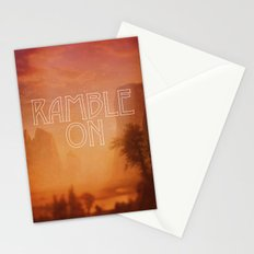 Ramble On Stationery Cards