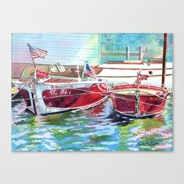 Show Off's Canvas Print