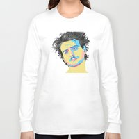 mac Long Sleeve T-shirts featuring Mac Attack by Grace Teaney Art