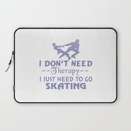 Go Skating Laptop Sleeve