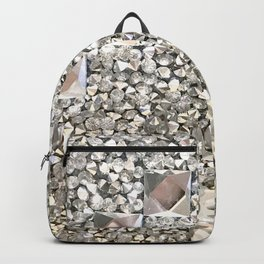 Diamond Chips Pattern Backpack